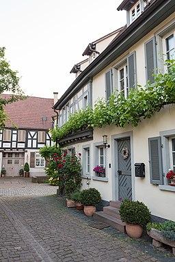 Jesuitengasse in Ladenburg
