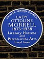 Lady Ottoline Morrell 1873-1938 literary hostess and patron of the arts lived here.jpg