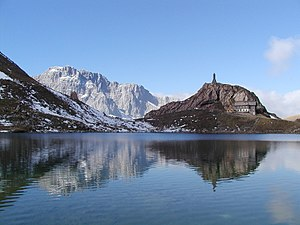 Carnic Alps - Wolayer Lake in the Carnic Alps