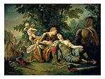 Lagrenee, Louis Jean - Tancred and Clorinda - 1761.jpg