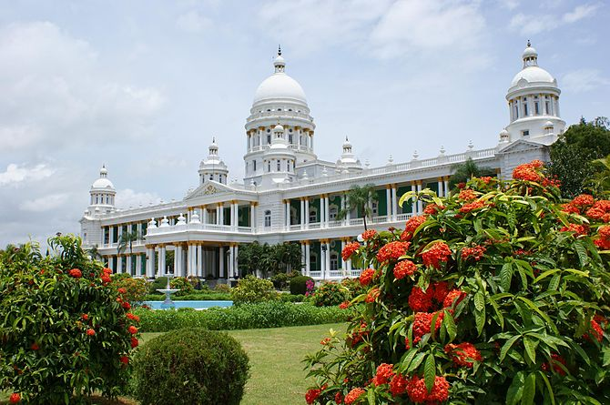English: Lalitha Mahal Palace, Mysore, in Sept...