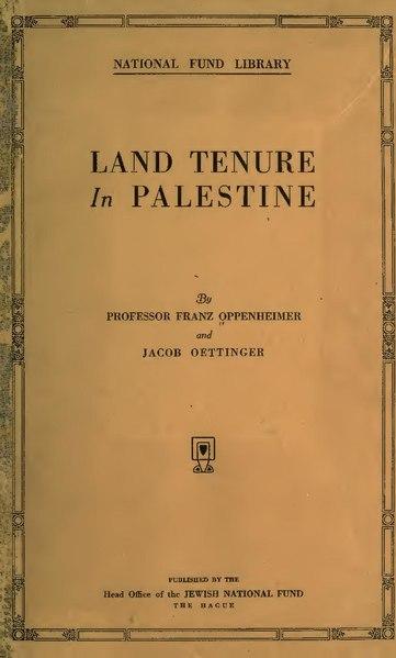 File:Land tenure in Palestine (IA landtenureinpale00opperich).pdf