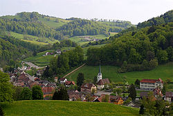 Skyline of Langenbruck