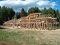 Langhuset Veien konstruksjon 2003.jpg