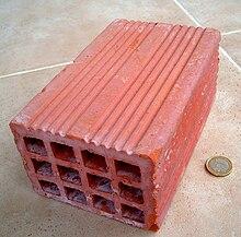 Ladrillo hueco wikipedia la enciclopedia libre - Tipos de ladrillos huecos ...