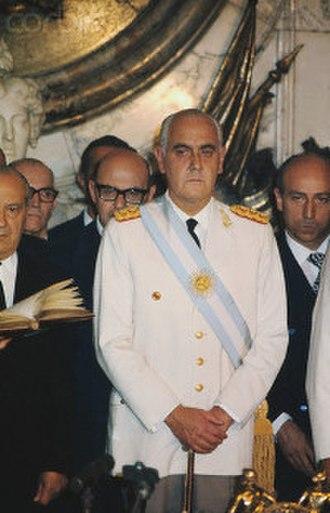 Alejandro Agustín Lanusse - Alejandro Lanusse's Presidential assignment, 1971.