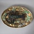 Large Longchamp majolica lobster platter 18.9 inches c 1880.jpg