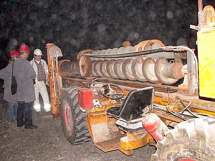 Large hole drilling rig for blast-hole drilling Large hole drilling rig.jpg