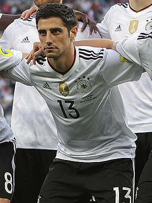 Lars Stindl - Stindl lining up for Germany in 2017