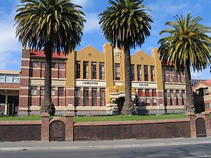 Launceston College, Tasmania - Image: Launceston College