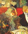 Lautrec in a private room at the rat mort 1899.jpg