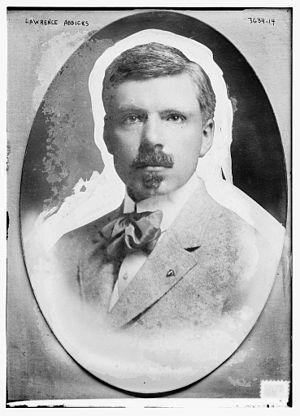 Lawrence Addicks - Image: Lawrence Addicks circa 1915