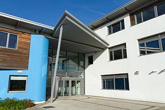 Saint Clement, Jersey - Le Rocquier School in 2013.