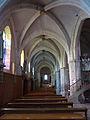 Le collatéral gauche - église Saint-Martin de Pouillon.jpg