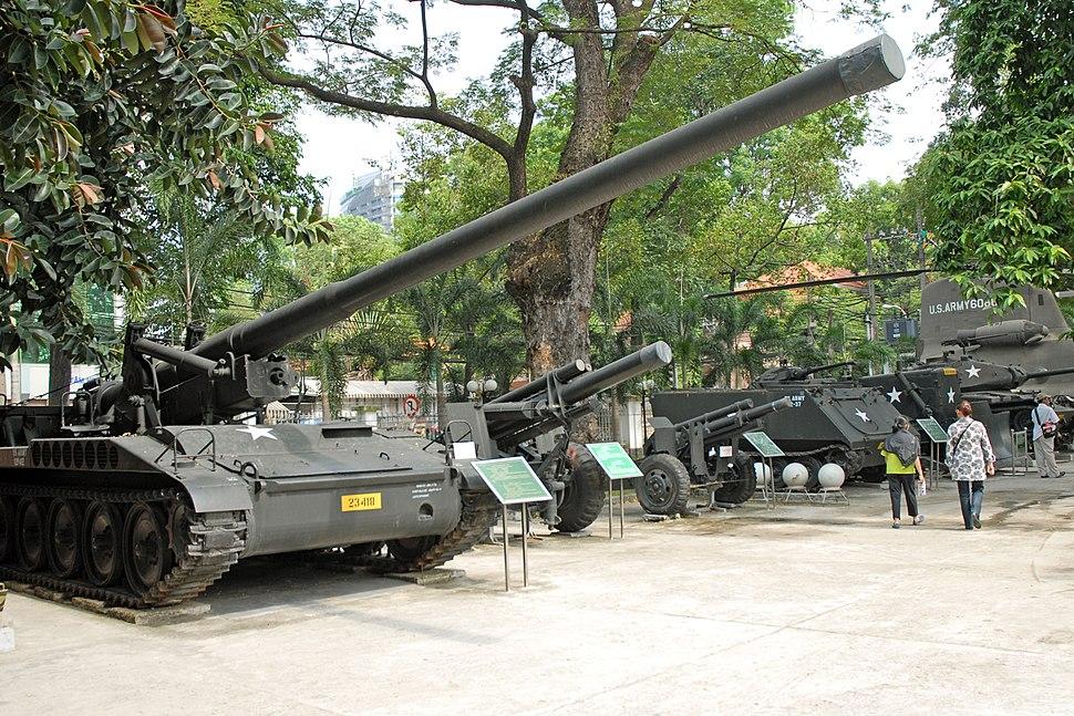 Le mus%C3%A9e des Souvenirs de guerre (H%C3%B4 Chi Minh Ville)