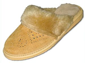 Slipper - Leather slippers