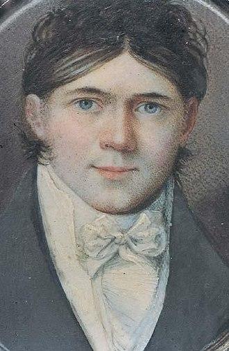 Carl Peter Lehmann - Self-portrait