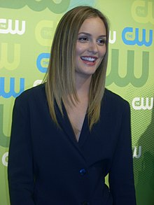 Leighton Meester at CW Upfront 2009.jpg