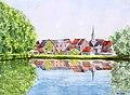 Lens (Hainaut) - L'étang du moulin.jpg