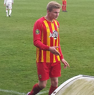 Taylor Moore - Moore playing for Lens B.