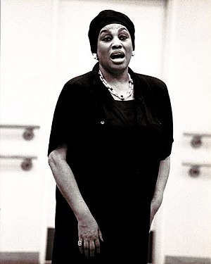 Merola Opera Program - Opera singer Leontyne Price directing a master class in the Merola Opera Program in 1986.