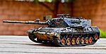 Leopard 1 A4 - Testor-Italaeri kit 805 1-35 scale model 1979 (26498431792).jpg