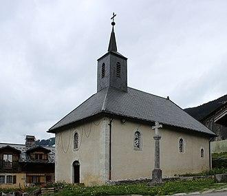 Arâches-la-Frasse - Image: Les Carroz d'Arâches Chapelle