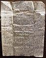 Lettera alla compagnia datini da barcellona aifrenze con descrizione accurata della piazza barcellonese, 13-03-1396.JPG