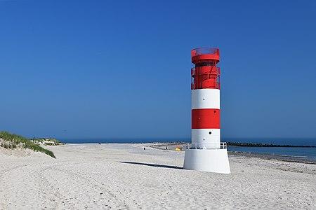 Lighthouse Heligoland-Düne