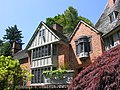 Lewis & Clark College, Frank Manor House, View from Back.JPG