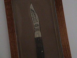 Imperial Schrade - Statue of Liberty commemorative knife from Schrade
