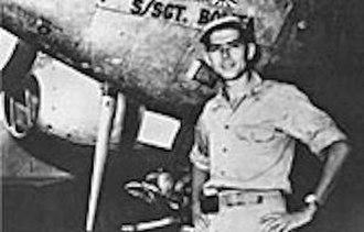 Iruma Air Base - USAAF Lieutenant Colonel Gerald A. Johnson