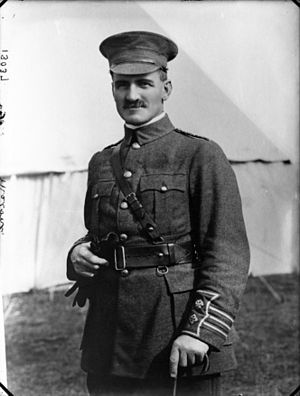 Taranaki by-election, 1907 - Image: Lieutenant Colonel William George Malone, 1914 1915