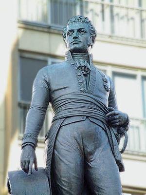 Lieven Bauwens - Lieven Bauwens statue in Ghent