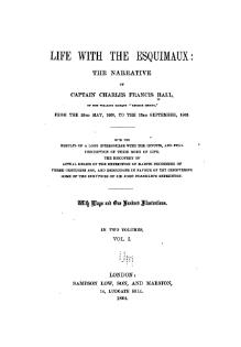 Life with the Esquimaux - 1864 - Volume 1.djvu