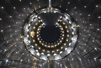 Gasometer Oberhausen - Light Sky by Christina Kubisch