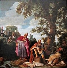 Hippocrate et Démocrite