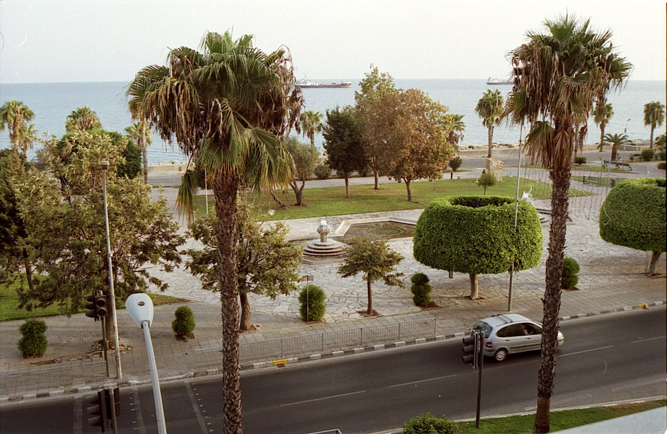 Limassol Sea Front and Park