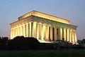 Lincoln Memorial at sunset.JPG