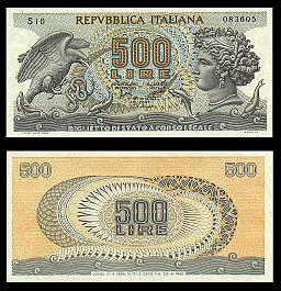 Lire 500 (Aretusa)