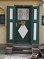 Listed building, door, 14 Allomas Promenade, 2016 Dunakeszi.jpg