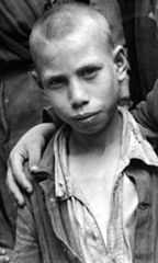 Little Boy at the Albergo dei Poveri reformatory, Naples (cropped) - 1948.jpg