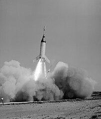 Little Joe 5B launch, NASA photo, from Wikipedia 203px-Little_Joe_5B_liftoff.jpg