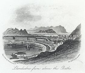 Llandudno from above the baths