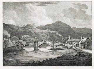 Llanrwst bridge, north Wales