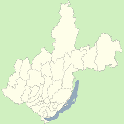 Irkutsk is located in Irkutsk Oblast