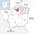 Locator map of Kanton Les Ulis 2019.png