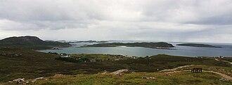 Isle Ristol - Image: Loch an Alltain Duibh and Isle Ristol, Summer Isles, Scotland(RLH)