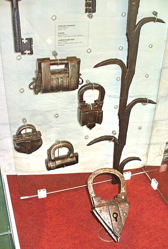 Lock (security device) - historical Locks from 17th century Russia