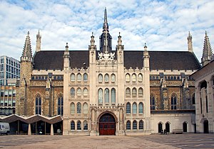 Guildhall - Guildhall, London, in the City of London, is the seat of the Corporation of London, the governing body of the city.